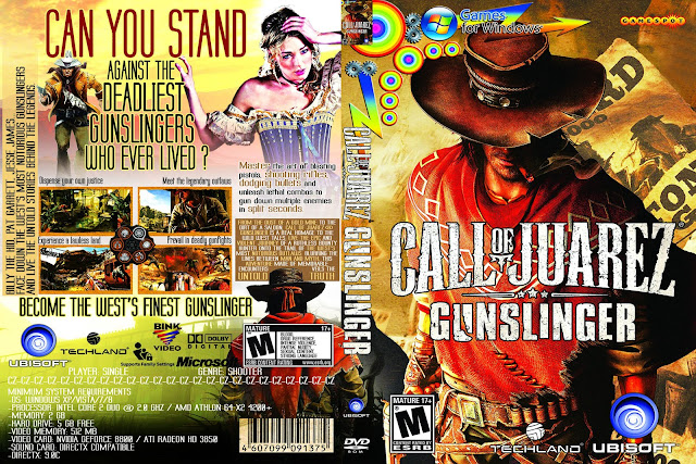 Capa Call Of Juarez Gunslinger PC