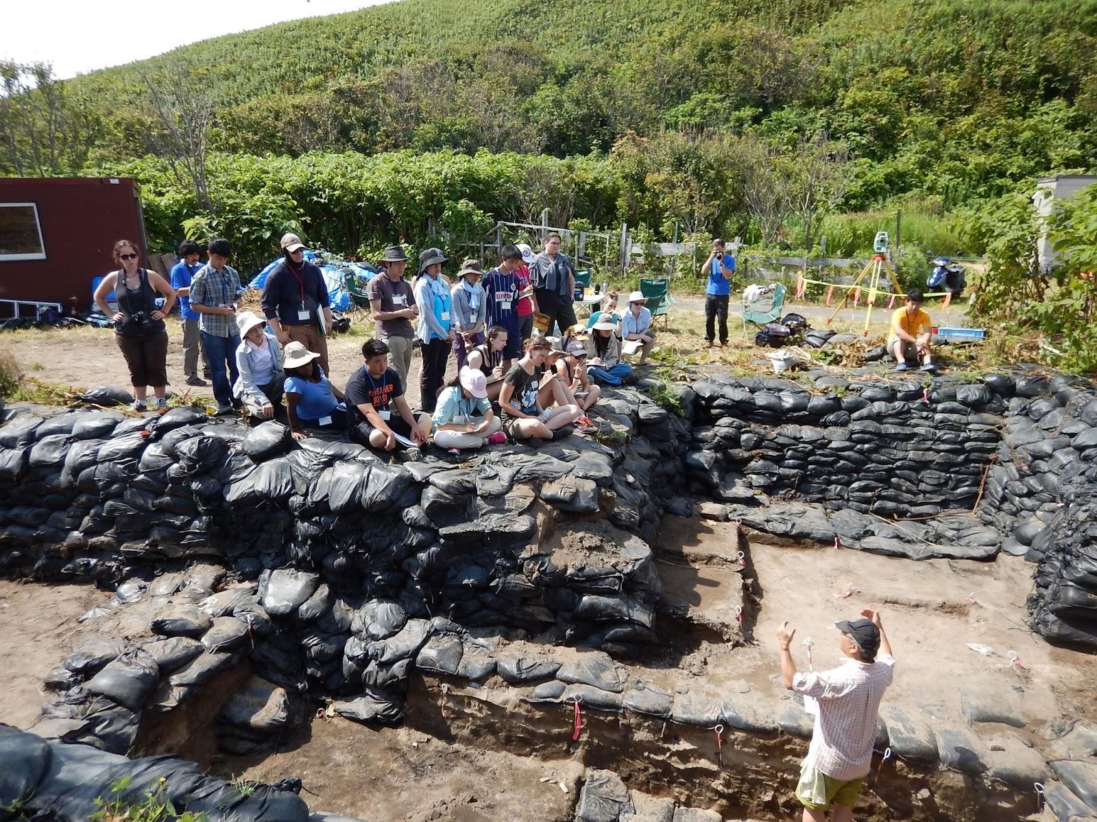 礼文島浜中2遺跡発掘調査ブログ
