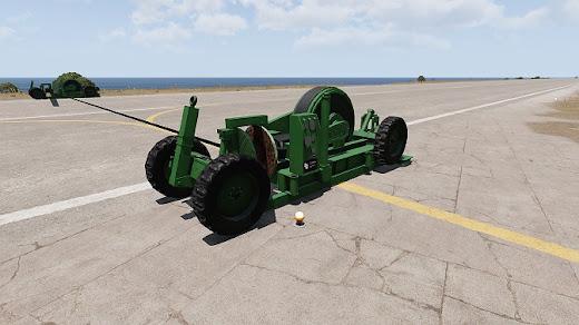Arma3に移動式の着艦システム
