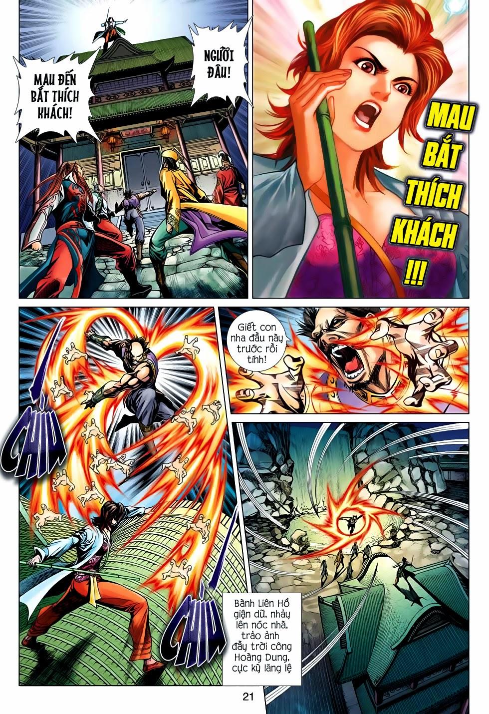 Anh Hùng Xạ Điêu anh hùng xạ đêu chap 56: tuyệt tình vô nghĩa lãnh huyết ác niệm trang 21