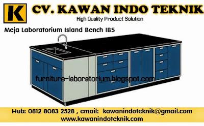 Meja Laboratorium Island Bench IBS