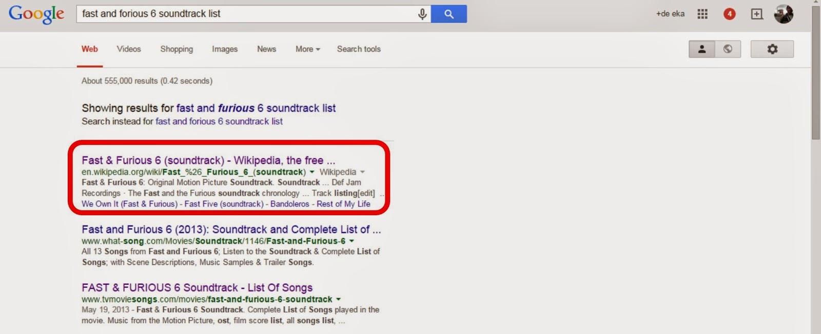 Hasil pencarian soundtrack