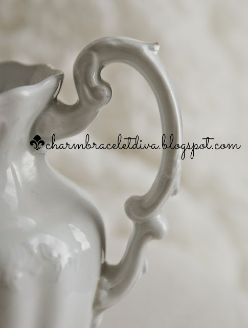 vintage Johnson Bros.ironstone pitcher