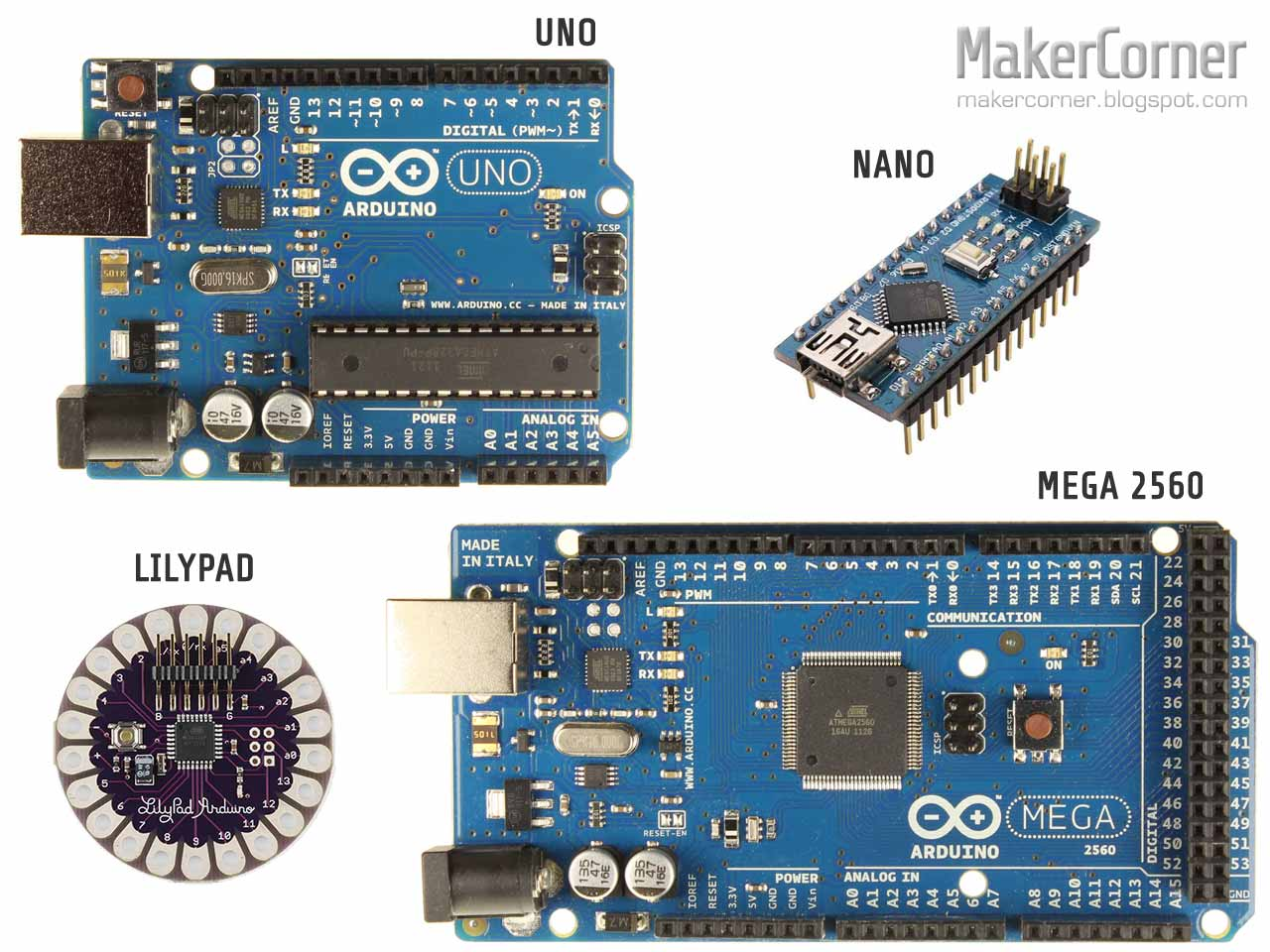 Maker corner controlling relays with the arduino