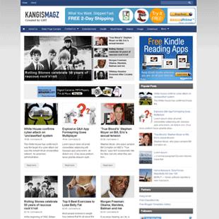 kangismagz blogger template