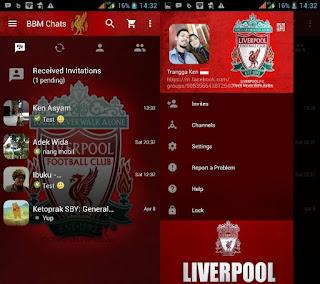 BBM Mod Tema Liverpool