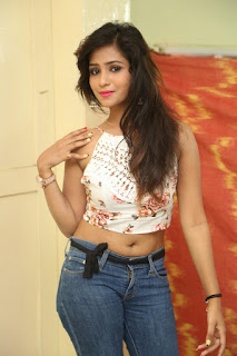 Deekshita Parvathi in a short crop top and Denim Jeans Spicy Pics Beautiful Actress Deekshita Parvathi January 2017 CelebxNext (37).JPG