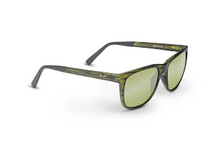From Maui Jim this month, a refined wayfarer unisex style 'Tail Slide'