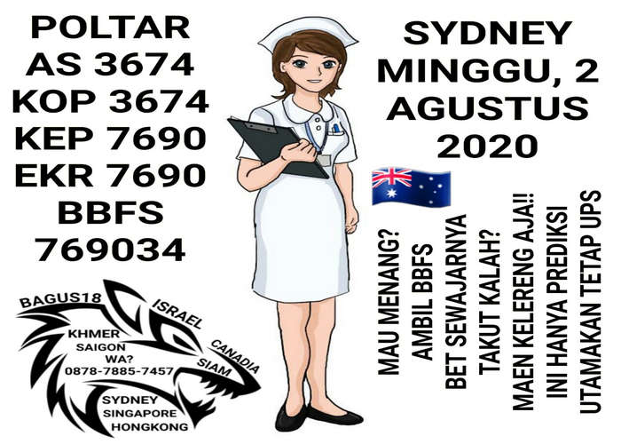 Kode syair Sydney Minggu 2 Agustus 2020 22