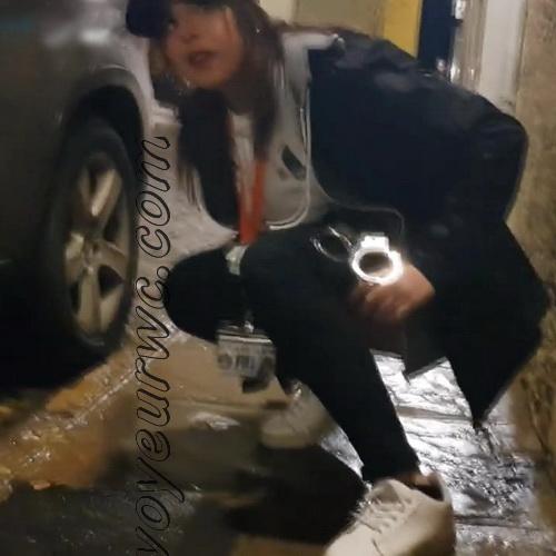 Girls Gotta Go 78 (Spanish drunk girls pee in a public place)