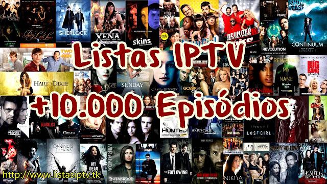 Listas IPTV de Séries