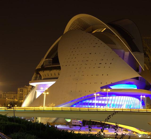 Ciudad de las Artes y las Ciencias de Valencia. España