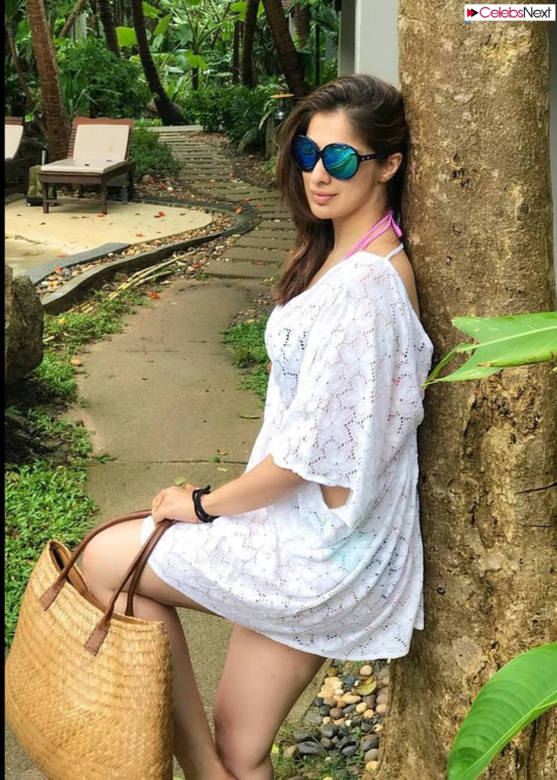 Raai Laxmi Enjoying vacation in Micro Mini Dress Candid Pics