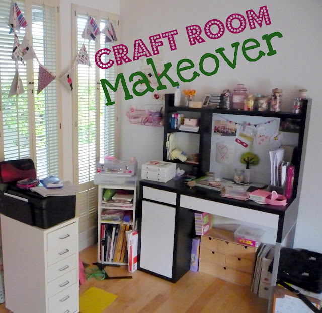 Craft Room Makeover: That Cute Little Cake: Craft Room Makeover