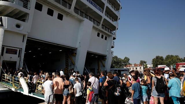 Αυξημένη κίνηση σε λιμάνια και εθνικές οδούς για το τριήμερο του Αγίου Πνεύματος