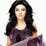 Sushmita Sen photoshoot for Pakistani fashion House crescent lawn