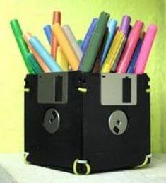 pen box dari disket jadul