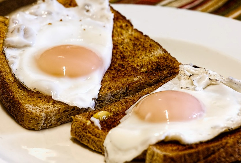 Eggs on Toast for Breakfast Pixibay Image