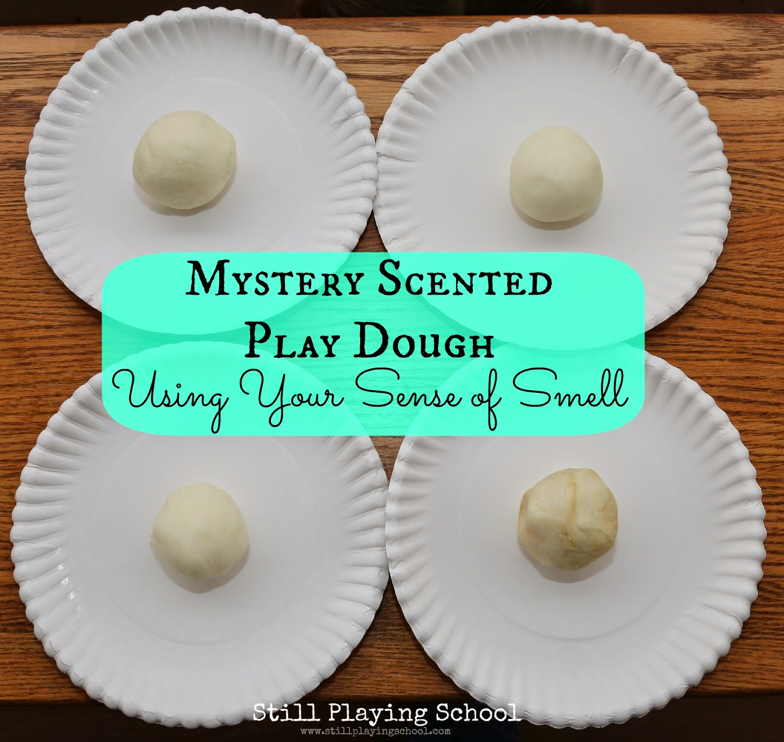 Mystery Scented Play Dough: Using Your Sense of Smell ...