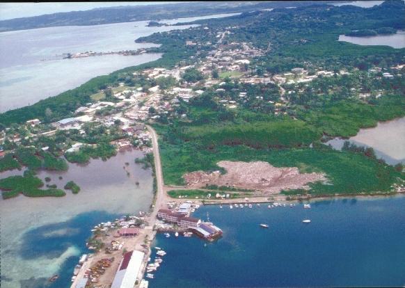 Koror, Capital de Palau