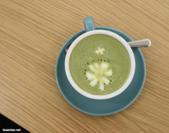 Matcha Latte - RM10.90