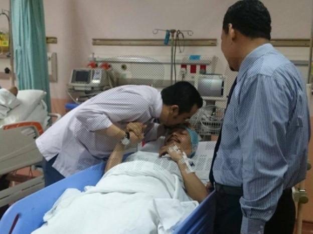 Ustaz Kazim Jalani Rawatan Angiografi Koronari