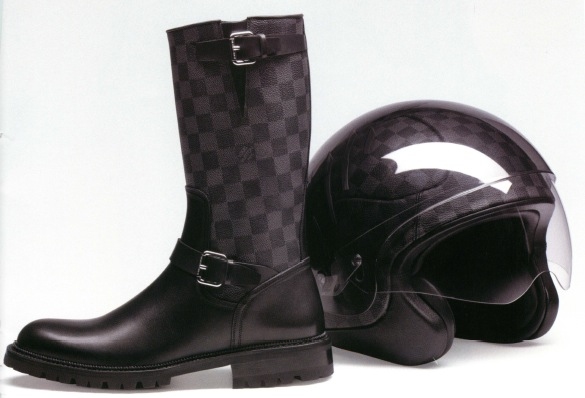 2fa49878099d Louis Vuitton Helmet and Motorcycle Boots