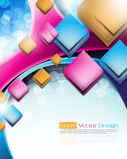 Abstract Vector Background Object  Vector Free Vector