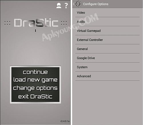 drastic ds emulator apk preview screenshot