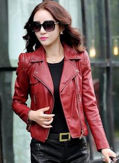 Model Jaket Kulit Wanita Model Terlengkap Paling Trend Saat Ini