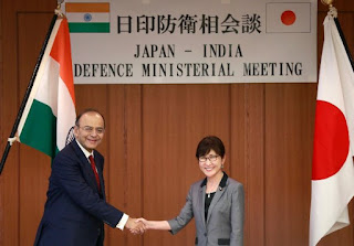 India and Japan affirm plans to strengthen their defence cooperation amid rising tension in Asian region