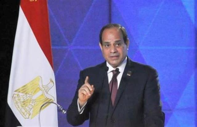 """السيسي الشعب والجيش المصري سيتحرك لحماية الخليج ..وعن سوريا """" أصلحلك ليه """" ."""