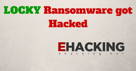 Locky ransomware got hacked