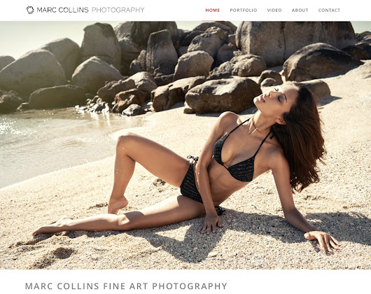 Marc Collins Photography fashion, beauty, lingerie and swimwear photographer