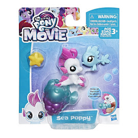 MLP Baby Seapony Sea Poppy Brushable Pony