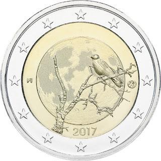 Suomalainen luonto 2017 kolikko