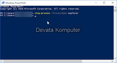 Cara Restart Windows Explorer di Windows 10