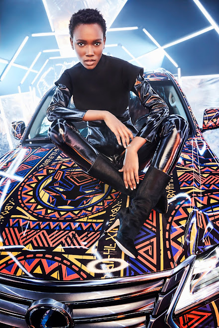 Herieth Paul for Lexus LX and Black Panther Campaign