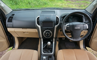 Interior All New Isuzu D-Max