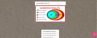 Los números Reales