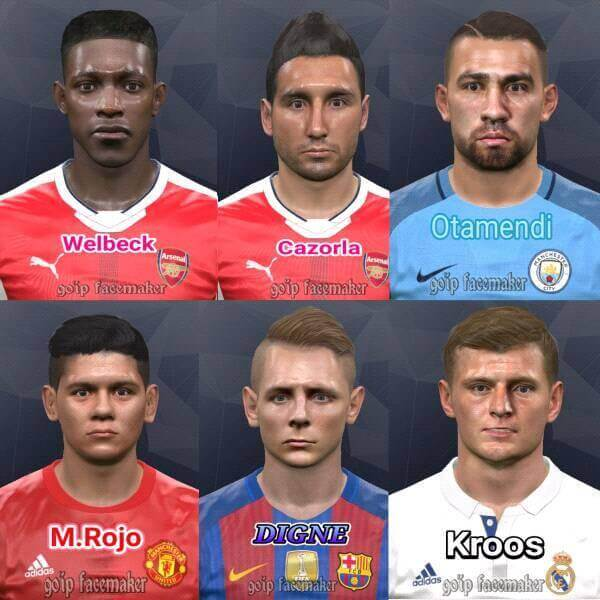 Update Facepack PES 2017