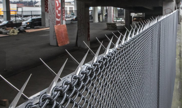 Seattle is putting fences under its bridges to keep campers out — and some say that's wrong