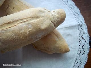 Pan blanco rústico