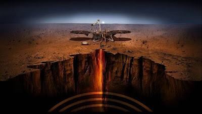"""InSight probe officially began searching for traces of """"marsh shakes"""" Planet-Today.com"""