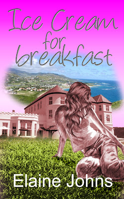 Interview, Elaine Johns, Author, Ice-Cream for Breakfast, Books, Writer, The Writing Greyhound, Lorna Holland
