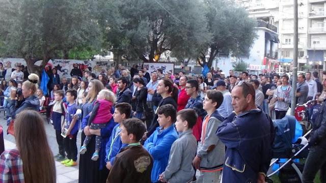 Με επιτυχία πραγματοποιήθηκε το Μαθητικό Φεστιβάλ της ΚΝΕ στην Αλεξανδρούπολη
