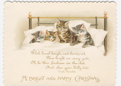 DAY 12: 12 DAYS OF VICTORIAN CHRISTMAS CARDS