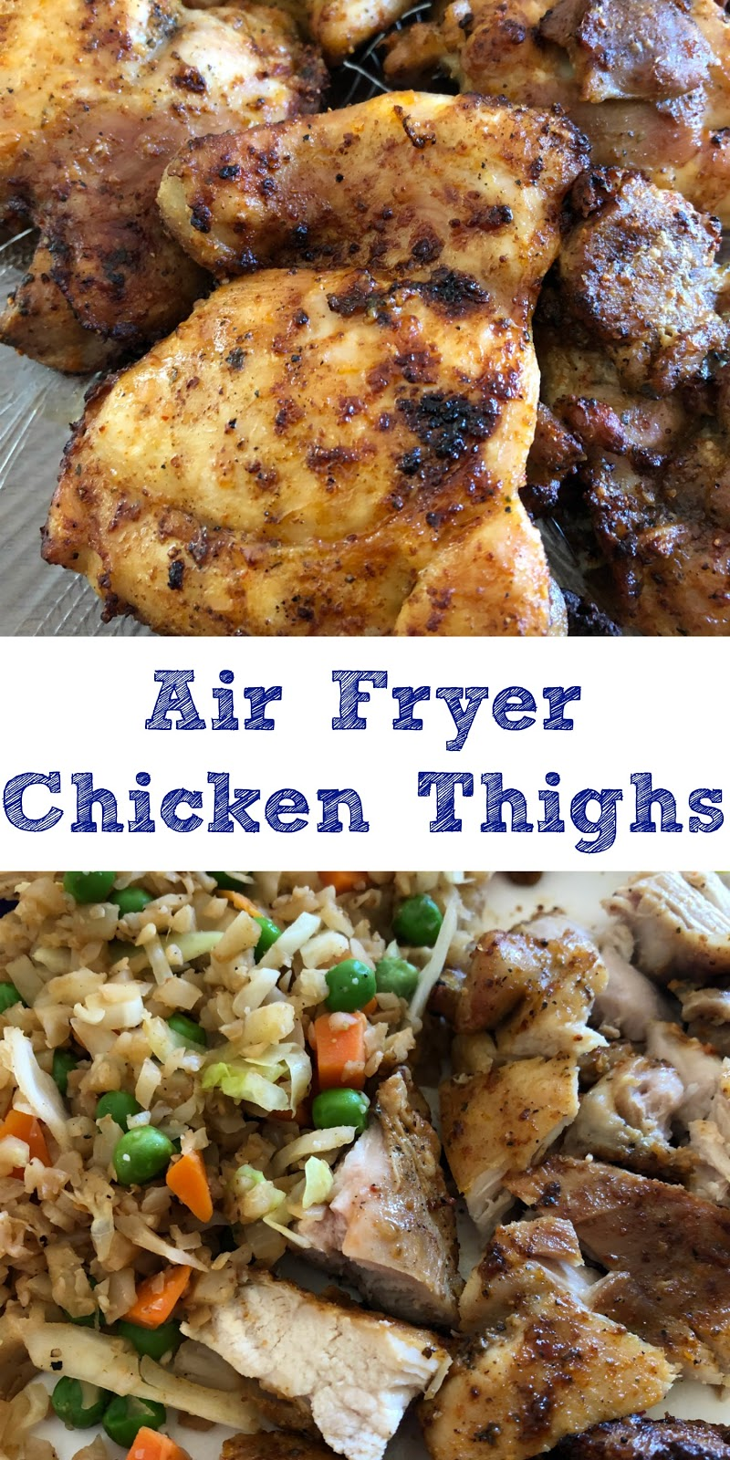 How to cook boneless chicken thighs in the air fryer