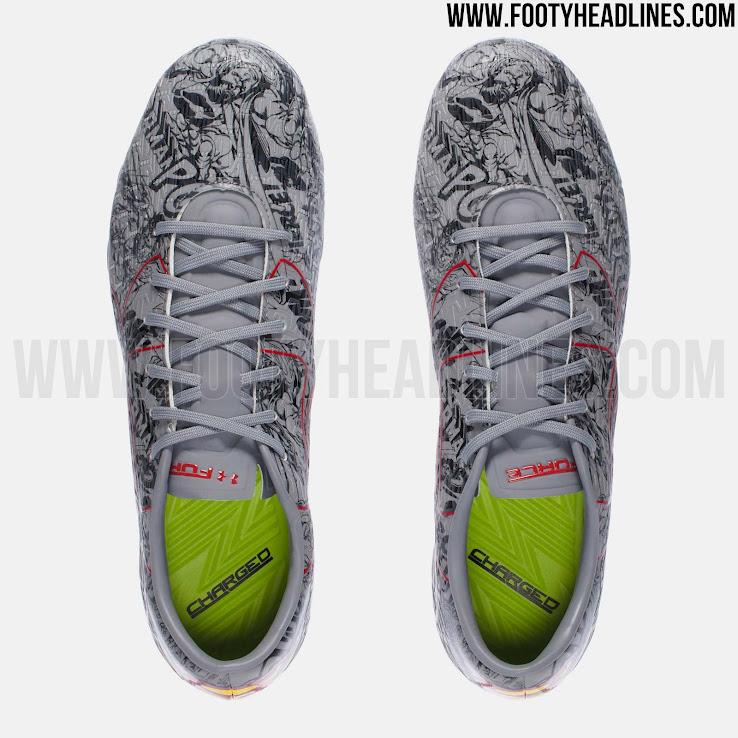 8b4dbcee Te gustan las nuevas botas de Under Armour homenaje a Superman?