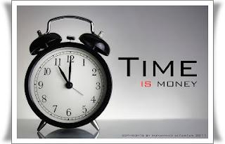 Manfaatkan waktu dengan baik karena waktu adalah uang